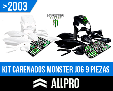 Carenado Yamaha Jog Monster ALLPRO