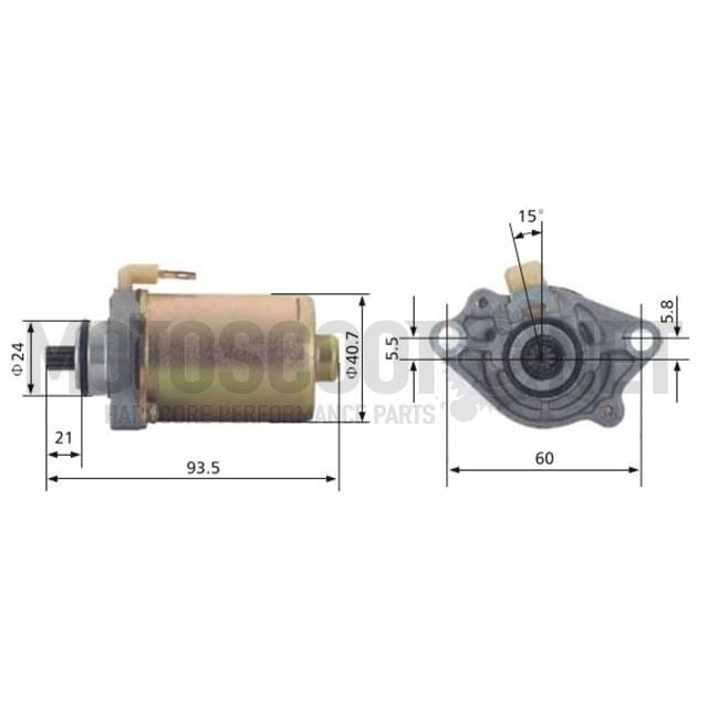 Motor de arranque 12V 0,15KW - 11 Dientes - Rotación Izquierda Sku:04128162 /1/7/1781628_1_.jpg