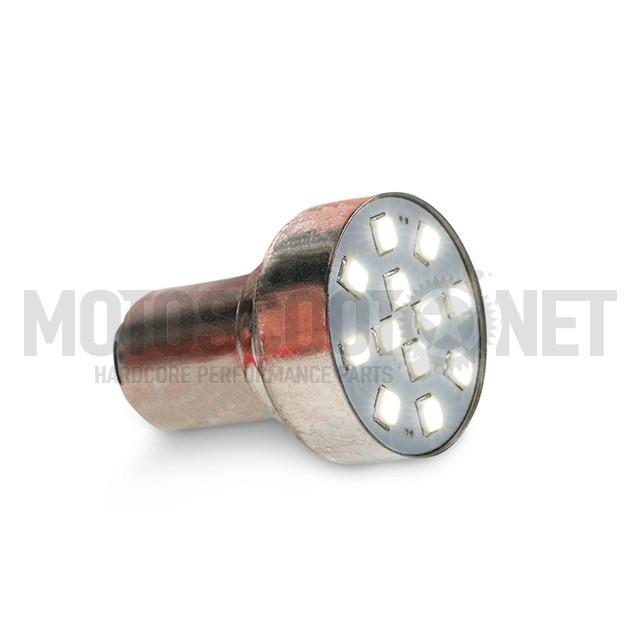 Bombillas Amolux LED blanco piloto trasero 12 LEDs tipo BAY15D 2 unidades Sku:AM91LEDX /9/1/91ledx_01.jpg