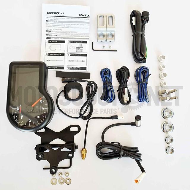 BA071000 Marcador completo RX-3 TFT Koso pantalla LCD B