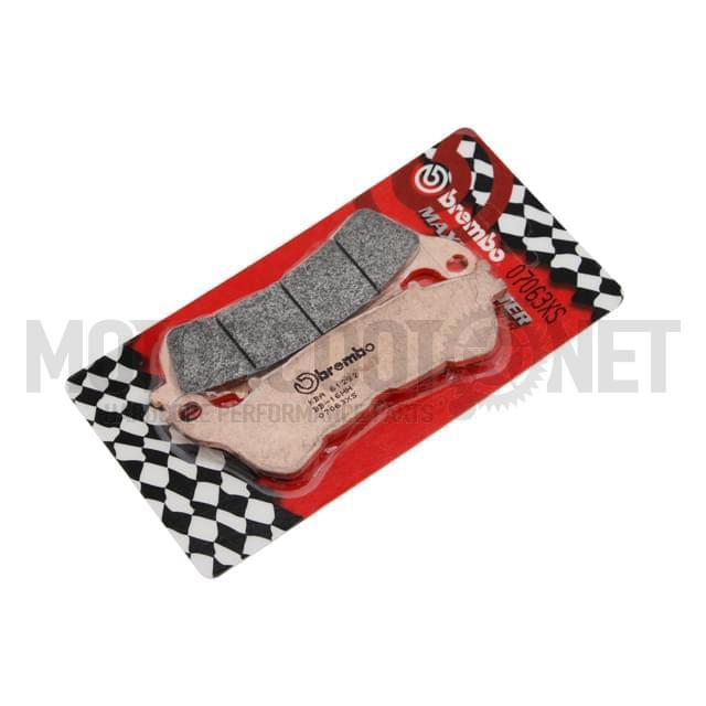 Pastillas Brembo sinterizadas, Delantera Honda SH300i, Forza 250cc, Shi 125cc (09-12), SilverWing 400cc, Kymco People Gti 125cc Sku:07063XS /b/r/br07063xs.jpg