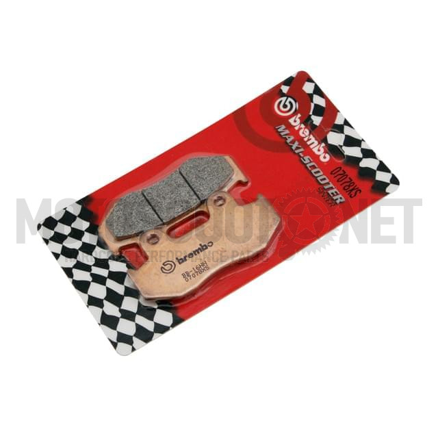 Pastillas Brembo sinterizadas, Delanteras Honda SH, Shi (04-08), Dylan, PS 125/150cc Sku:07078XS /b/r/br07078xs.jpg