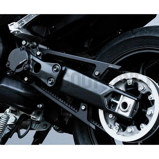 Cubre correa Yamaha T-Max 530 17-18 Negro Mate BCD ref: CACHECOUR00222