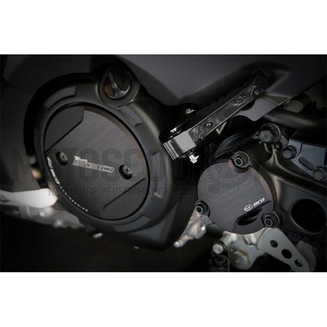 Tapas cubremotor Yamaha T-Max 530 12-16 Negro mate BCD ref: CAPOTMOT00222