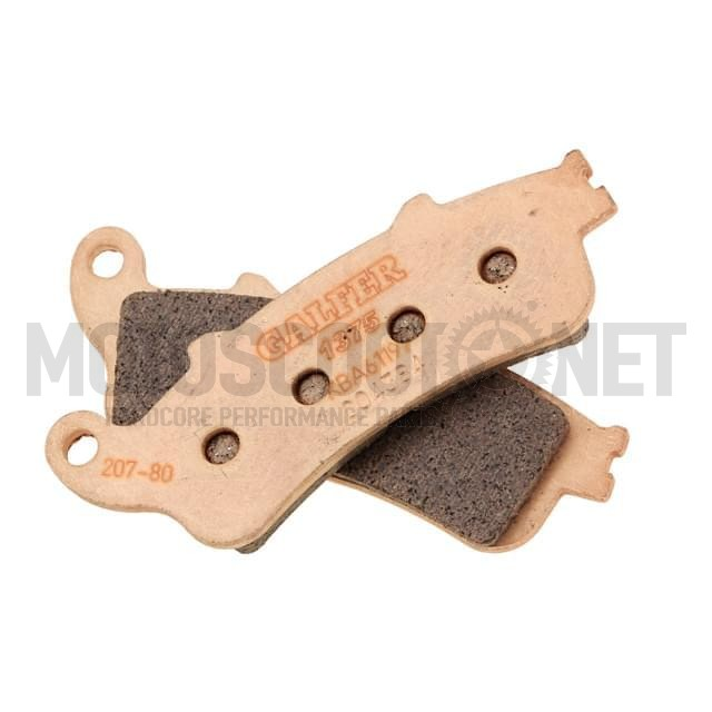 Pastillas de freno Galfer - Metal sinterizadas, HONDA PANTHEON 125 ie 4T LC (´03-) 150, Silverwing Sku:FD207G1380 /g/l/glfd207g1380.jpg