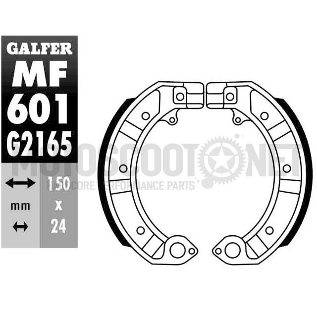 Zapatas freno del/tras Vespa PK S XL/DN/IRIS/T5/TX Galfer Sku:MF601G2165 /m/f/mf601g2165_01.jpg