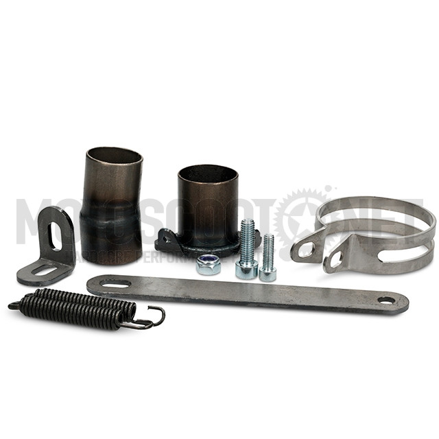 Escape Derbi/AM6 90/100cc silenciador negro MJC  Sku:MJCE90/100BK /m/j/mjce90-100bk_02.jpg