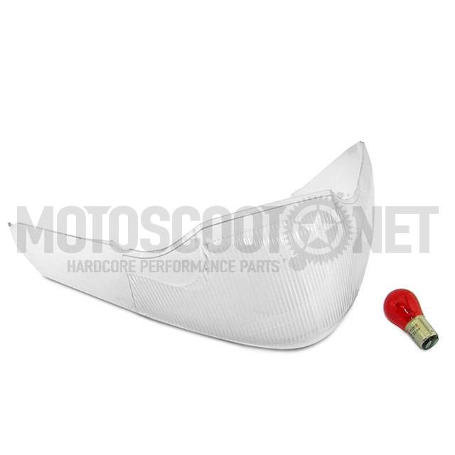 Tulipa de la luz trasera  Yamaha Jog / MBK Mach G - transparente