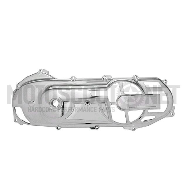 "Tapa del Cárter ""Custom-Cut"", motor Minarelli horizontal - cromado"