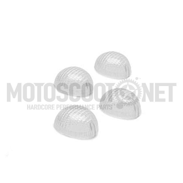 Tulipas (Set) para Intermitentes TNT, Peugeot Ludix, transparente