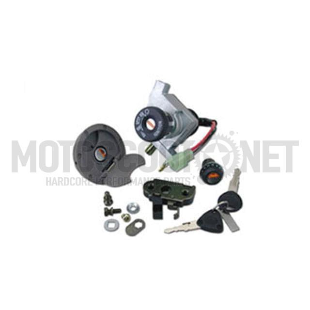 Cerradura TNT MBK Nitro/Yamaha Aerox (3 piezas) (hasta 2002)