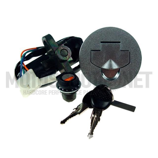 Cerradura de contacte (Set) Peugeot XR6