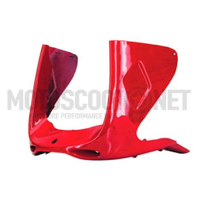Tapa frontal inferior - MBK Nitro / Yamaha Aerox, rojo