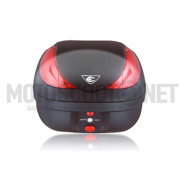 Maleta Topcase COOCASE Wizard-Luxury con mando a distancia