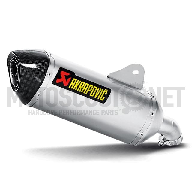 Escape BMW C 650 GT Hexagonal Slip on silenciador Titanio homologado Akrapovic
