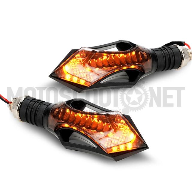 Intermitentes LED secuenciales Stream Thumb AllPro ref: AP50LT55.04.CE