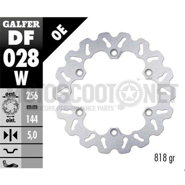 Disco de freno trasero Wave Honda CB / CBR / FJS / VFR Galfer