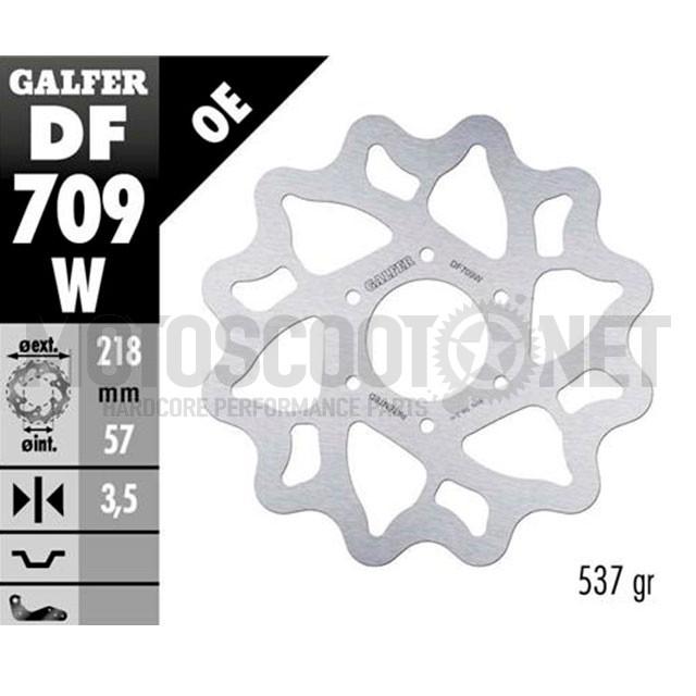 Disco de freno trasero Wave Derbi Senda DRD Limited SM a partir del 2005 Galfer