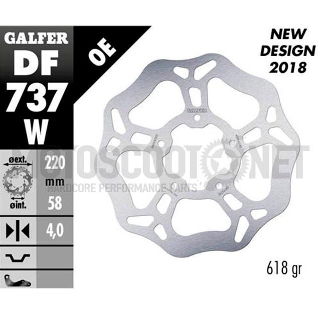 Disco de freno delantero Wave Gilera Runner 50/125/200 / NRG / Skipper Galfer