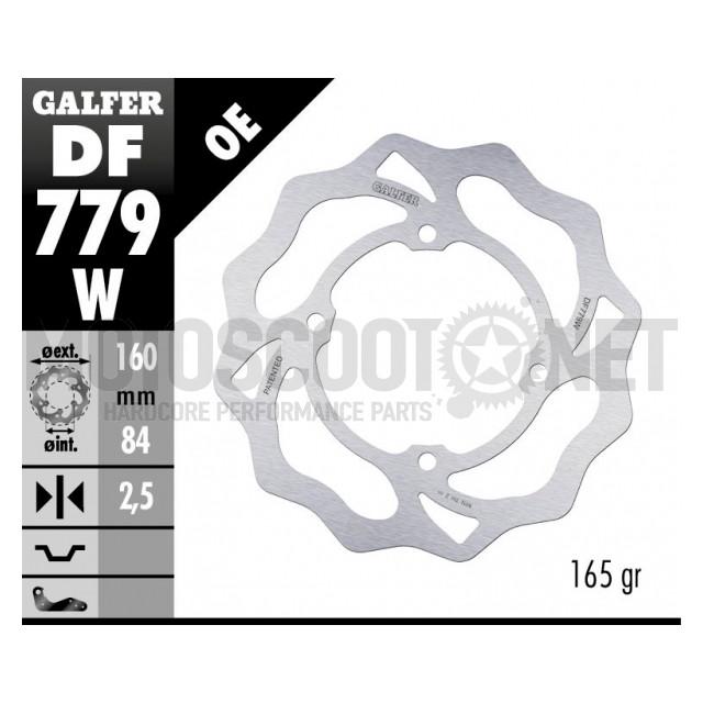 Disco de freno delantero KTM SX 50 06-20 / Trasero KTM SX 50 14-20 Wave Galfer ref: DF779W