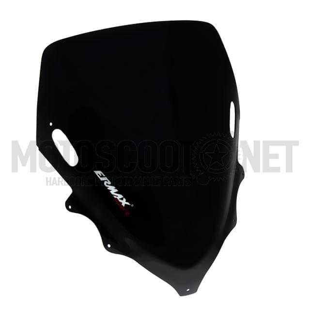 Cúpula Hyper Sport Yamaha T-Max 08-10 ErMax negro oscuro