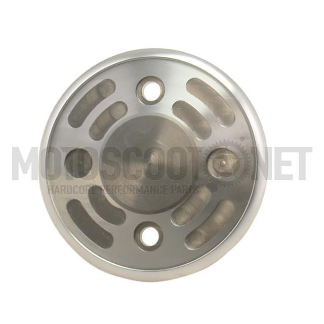 Tapa carter en aluminio CNC de Ermax para T-MAX, color aluminio