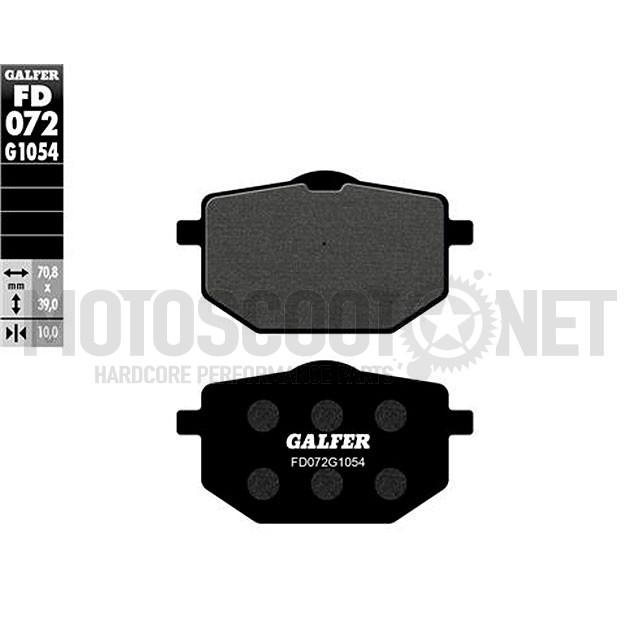 Pastillas de freno Galfer, orgánicos, Yamaha DT 80 LC2