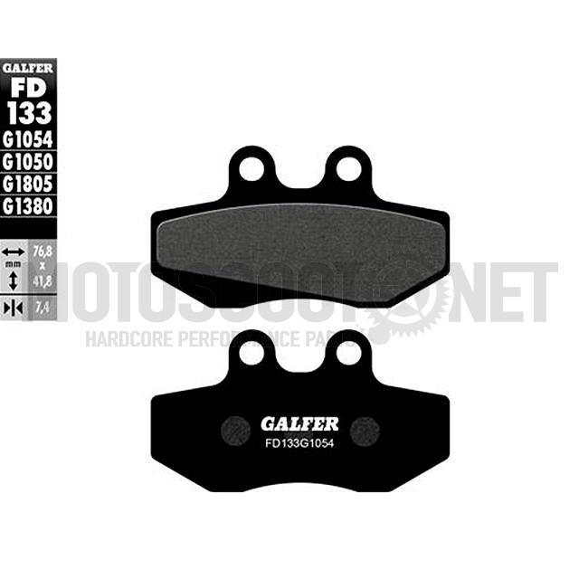 Pastillas de freno Galfer (FD133G1054), Senda DRD Racing, orgánico
