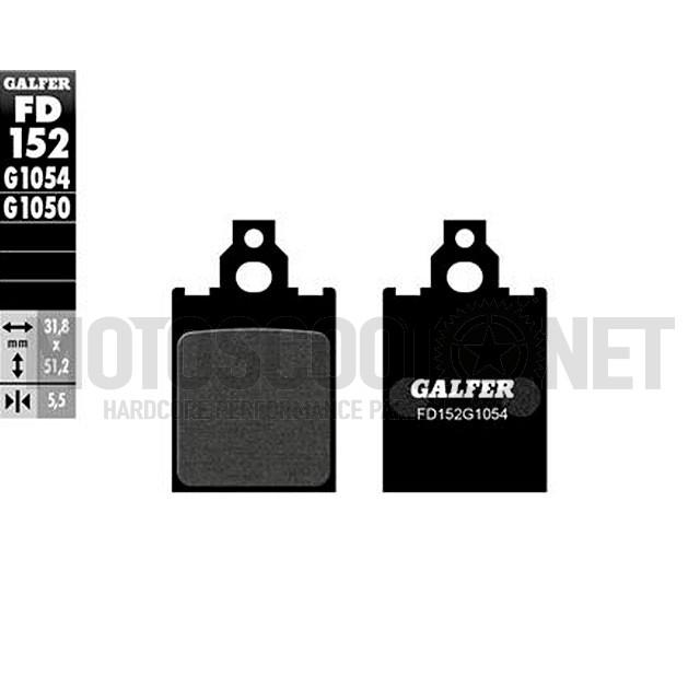 Pastillas de freno Galfer Semi metálico FD152G1054 Vespa