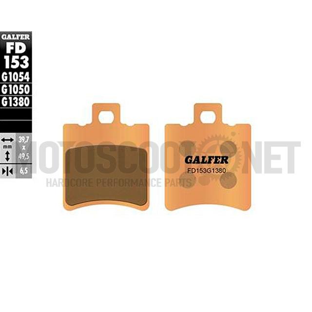 Pastilla de Freno (Set) Galfer sinterizadas FD153G1380