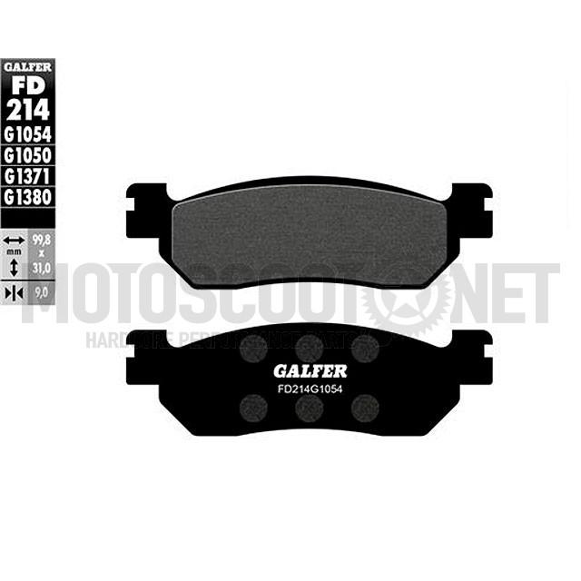 Pastillas de freno Galfer Organic X-Max 250 2010 tras.