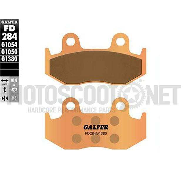 Pastillas de freno (set) Galfer sinterizadas (FD284G1380), Honda Scoopy/ SH