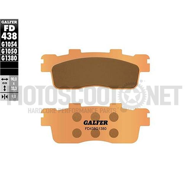 Pastillas de freno Galfer - Metal sinterizadas, Kymco Downtown 125-300cc, K - XCT 300i, SUPER DINK 125i