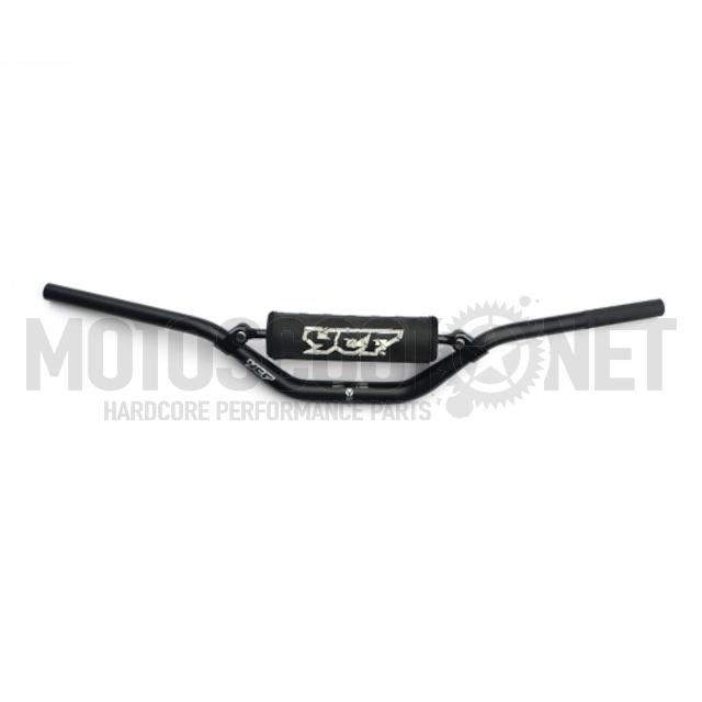 Manillar 28.6mm Pitbike YCF Factory L.760mm - Negro