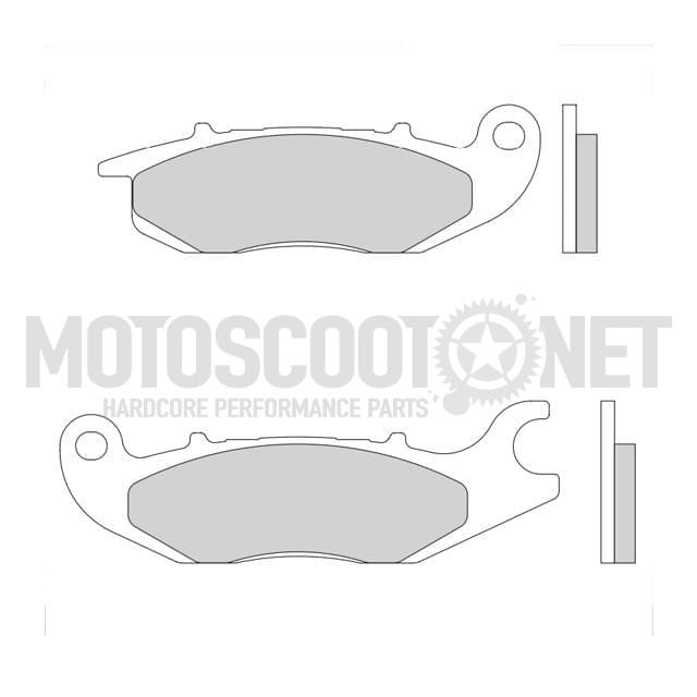 Pastilla de Freno (Set) Galfer orgánico (FD298G165) delantero, Honda ANF 125 Innova/ CBF/CBR 125, Rieju RS-2
