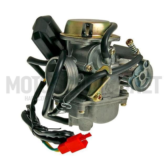 Carburador completo calidad origen Ø24mm - GY6125/150ccm