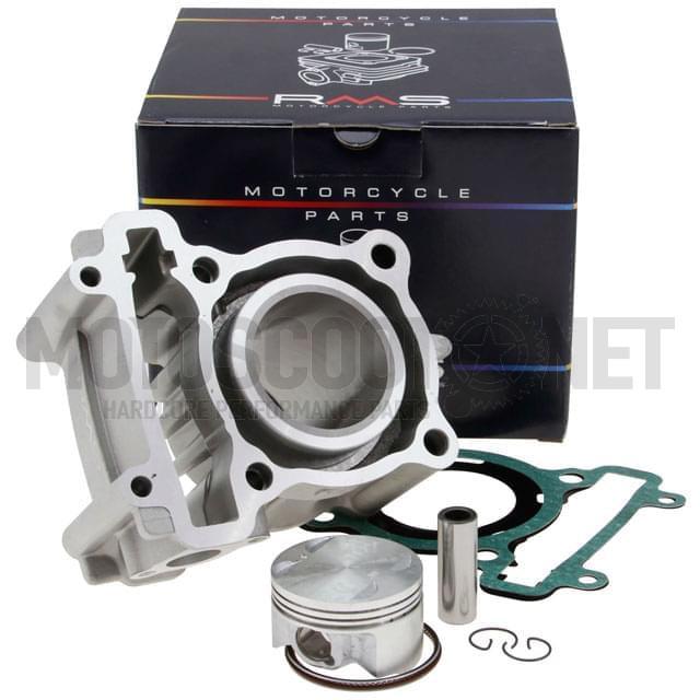 Cilindro (Kit) Aluminio RMS, 125cc LC 4 Tiempos Ø52mm, Yamaha X-MAX 07-10, X-City 07-10, YP-R X-Max 2011 125cc