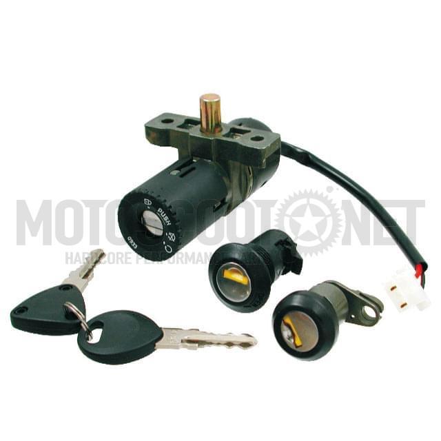 Juego kit cerraduras llaves cerrajas HONDA SCOOPY SH 125 2001-2004