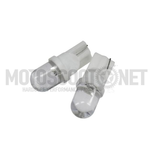 Juego de LEDs T10 blanco, luces de posición ( Aerox, Jog, Sh 125) (1 par)
