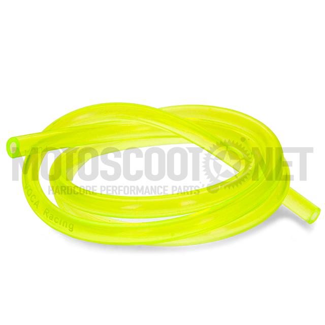Tubo de gasolina VOCA HQ Fuel-Pipe 1m silicona, amarillo ref: VCR-RD13.FUEL/YE
