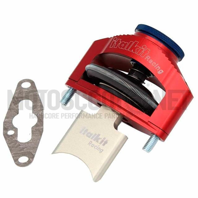 Válvula de escape neumática regulable para Cilindro rotax 122 Ø54mm Italkit ref: VER.01.125