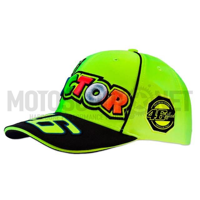 355bfd58638b6 Gorra Valentino Rossi amarillo fluor ref VRMCA262728