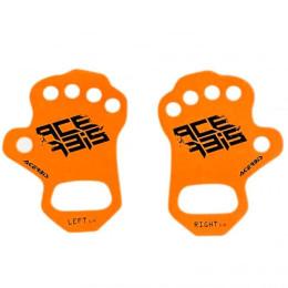 Protectores de palmas naranja Acerbis Talla S/M