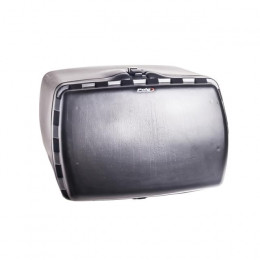 Baúle MAXI BOX con cerradura, Puig, Todas motos - Negra