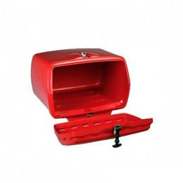 Baúle MAXI BOX con cerradura, Puig, Todas motos - Roja