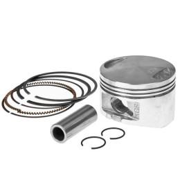 "Pistón para Cilindro (kit) Airsal ""Aluminio 124,6cc"", d.52.4mm, carrera 57,8mm, Honda 125cc 4T"