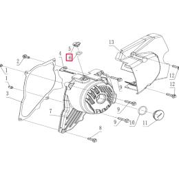 Junta tórica tapón registro tapa encendido Pitbike motor 190 Zongshen