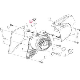 Tapón registro tapa encendido Pitbike motor 190 Zongshen