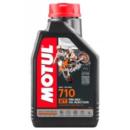 Aceite mezcla 2T 1L Motul 710 sintético