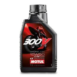 Aceite motor 4T 15W50 1L Motul 300V Factory Line Road